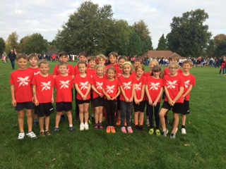 Cross Country Team, October 15